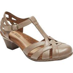 Rockport Women's Cobb Hill Aubrey T Strap Sandal, Size: 7 W, Beige Sneakers Fashion, Fashion Shoes, Sneakers Style, Shoes Style, Cheap Fashion, Fashion Fall, Fashion Rings, Fashion Dresses, Cobb Hill Shoes
