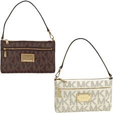 7112d20ff430 Buy Michael Kors Jet Set Large Wristlet in Vanilla. Becca's Shoppe · Michael -Kors handbags