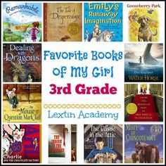 Lextin Academy of Classical Education: {Book List} Favorite Books of My Girl (3rd grade)
