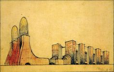A century since futurism: Antonio Sant'Elia and Mario Chiattone | The Charnel-House