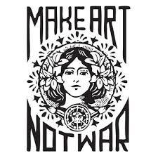 make art not war - Google Search