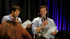Jared Padalecki and Misha Collins at New Jersey Con Full length!
