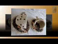 Поделки с кофейными зернами. Do it yourself decor with coffee beans - YouTube