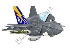 VMFAT-501 F-35 | by blackheartart