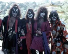 Kiss Rock Band Posters | ... THE BEST! The Hottest Band in the World — KISS! | The Selvedge Yard