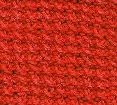 Every Saturday I will share with you a new stitch.  Today's stitch is: Rice Stitch.     Easy textured stitch perfect for throws, baby bla...