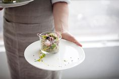 Crab, Apple and Avocado Verrine. Prepared it and ate it at  SundaySuppers!