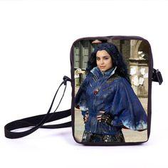 Anime Descendants Mini Messenger Bag Boys Girls Shoulder Bags Kids School Bags Children Crossbody Bag For Snacks Bookbag Mochila