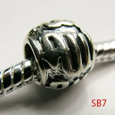 7.5x8x5.5mm Round 925 Sterling Silver Jewelry Making Silver European Beads