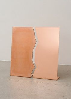 // Untitled (Copper Tear), 2012 Sam Falls