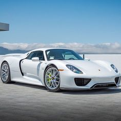 Porsche 918 - a great car if $900k+ is what you have to spend on a car, oh and it's a hybrid so you get Eco points too, and a range of about 19 miles in full electric mode! (photo: @purcell_photography )