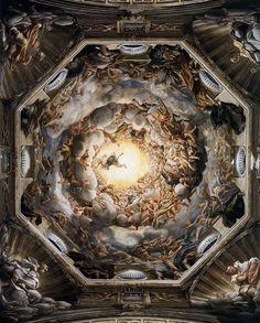 """Correggio """"Assunzione della vergine"""" Duomo di Parma"""