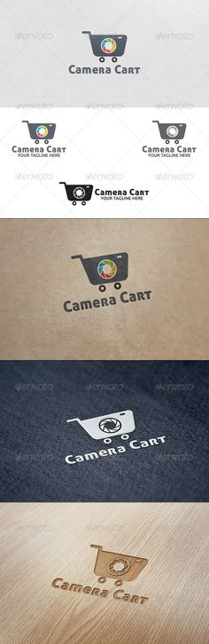 Camera Cart - Logo Template