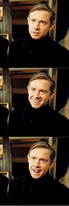 :) martin freeman. you wonderful man,you.