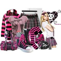 Avril's clothing line...I would kill for a skirt like that. Just sayin