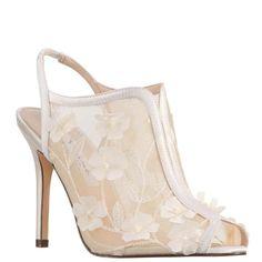 f816082adb7 Meggin-ivory floral mesh. Nina Shoes