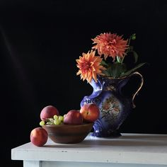 Still life with flowers and...: Photo by Photographer Nadya R.