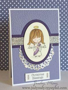 Stampin Up 'Christmas Cuties' stamp set. Judy May, Just Judy Designs