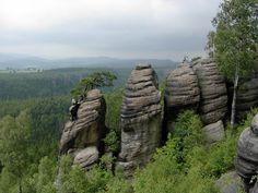 Česko, Broumovské stěny