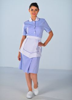 Maid Uniform, Uniform Dress, Maid Dress, Peplum Dress, Shirt Dress, Staff Uniforms, School Uniforms, Nylons, Buttons