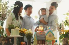 UP first birthday | 100 Layer Cakelet