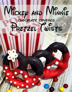 Mickey and Minnie Pretzels: Month of Disney