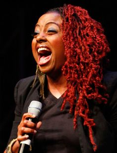Ledisi, colored locks