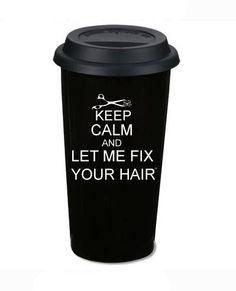 ... guarda la calma y dejame arreglarte el cabello ... !! :P