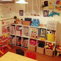 「おもちゃ収納」 「収納」 「キッズスペース」 「Lounge」 が写っているtakowasaさんのインテリア実例写真を紹介します。2014-10-30 11:01:51に撮影されました。