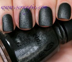 Stone Cold- China Glaze The Hunger Games Capitol Colors Collection Spring 2012