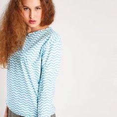 schnittchen Schnittmuster Shirt und Hose Polly Detail
