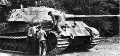 Tiger 2. The ultimate expression of German tank design during WW2. Though of little real use.