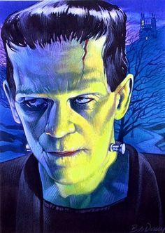 Frankenstein or Herman Munster costume