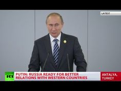 BREAKING: Putin Reveals ISIS Funded by 40 Countries, Including G20 Members | The Free Thought Project
