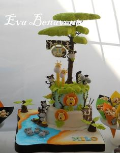 #JungleCake — Children's Birthday Cakes