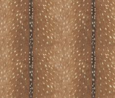 Deer Hide Fabric and Wallpaper by willowlanetextiles