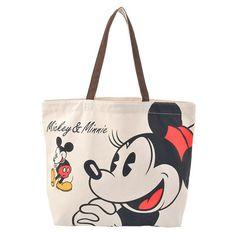 Mickey & Minnie Tote Bag