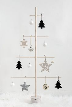 DIY Wood Dowel Tree - Homey Oh My