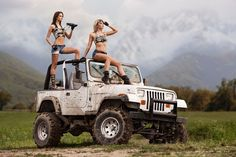 """I always said """"I'm going to marry a lady that drives a Jeep""""..."""