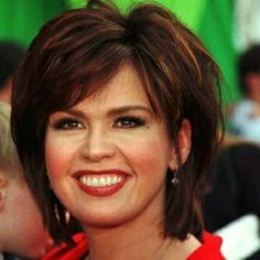 Marie osmond love the short shag hair