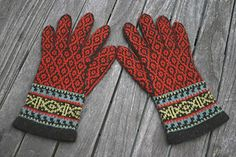 Spice route gloves
