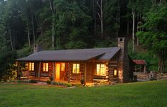 cabin in the woods | cabin in the woods: Green renovation meets historical preservation