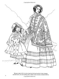 Civil War Coloring Pages | Civil War Fashions Coloring Book ...