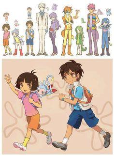 Dora anime versión~