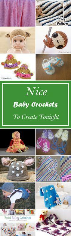 26 Nice Baby Crochets To Create Tonight