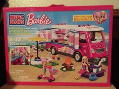 Barbie Mega Bloks Build And Play Luxe Camper  #MegaBloks