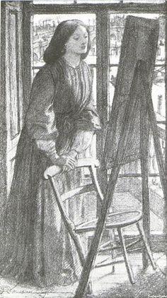 Dante Gabriel Rossetti, Elizabeth Siddal