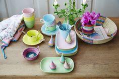 Pastelliges aus Melamin in chinesischer Form www.coco-kinderladen.de