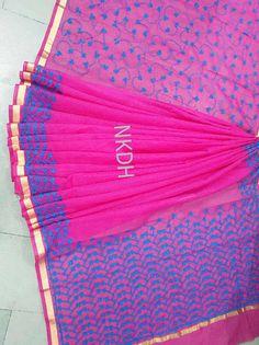 Kota cotton with aari work