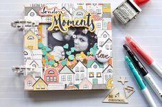 """Mini album """"London moments"""" #cratepaper @cratepaper"""
